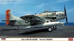 Hasegawa 1:72 - AD-6 Skyraider VA-65 Tigers
