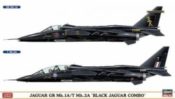 Hasegawa 1:72 - Jaguar GR Mk1A / T Mk 2A 'Black Jaguar Combo' (Two Kits in Box)