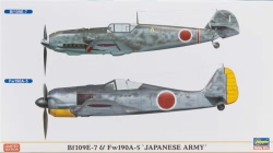 Hasegawa 1:72 - Bf109E-7 & Fw190A-5 Japanese Army