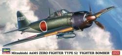 Hasegawa 1:72 - Mitsubishi A6M5a Zero Fighter Type 52 KOH