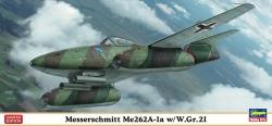 Hasegawa 1:72 - Messerschmitt Me262A-1 a w/W.Gr.21