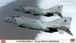 Hasegawa 1:72 - F-4S Phantom II VF-301 Devils Disciples