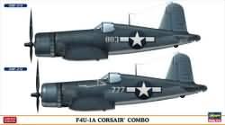 Hasegawa 1:72 - F4U-1A Corsair Combo (Two Kits in a box)
