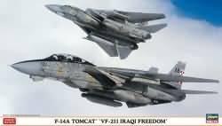 Hasegawa 1:72 - F-14A Tomcat VF-211 Iaqi Freedom