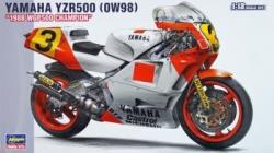 Hasegawa 1:12 - Yamaha YZR500 0w98 1988 WGP500 Champion