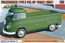 Hasegawa 1:24 - (21211) Volkswagen Type 2 Pick Up Truck 1967