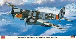 H-JT07310 - Hasegawa 1:48 - Henschel Hs129B-2 Winter Camouflage