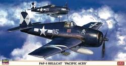 Hasegawa 1:48 - F6F-5 Hellcat (Pacific Aces)