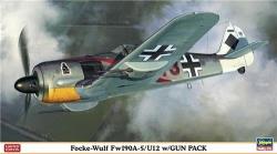 Hasegawa 1:48 - Focke-wulf Fw190A-5 / U12 w/ Gun Pack