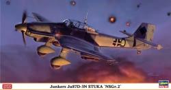 Hasegawa 1:48 - Junkers Ju87D-3N Stuka NSGr.2