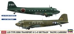 Hasegawa 1:200 - L2D Type Zero Transport & C-47 Sky Train Pacific