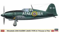 H-SP305 - Hasegawa 1:48 - Mitsubishi J2M3 Raiden Jck Type 21