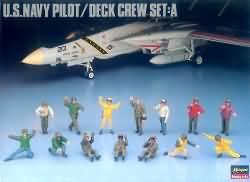 Hasegawa 1:48 - (36006) US Navy Pilot / Deck Crew Set A