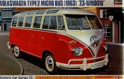 Hasegawa 1:24 - (21210) Volkswagen Type 2 Micro Bus w/ Windows