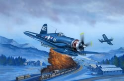 Hobbyboss 1:48 - F4U-4 Corsair Late Version
