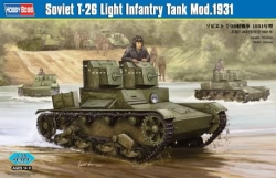 Hobbyboss 1:35 - Soviet T-26 Light Infantry Tank Mod 1931
