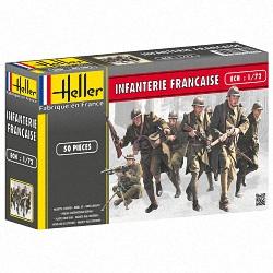 Heller 1:72 - Infanterie Francaise (French Infantry)