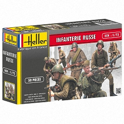 Heller 1:72 - Infanterie Russe (Russian Infantry)