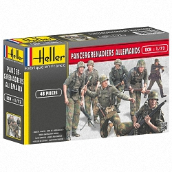 Heller 1:72 - Panzergrenadiers Allemands (German Panzergrenadiers)