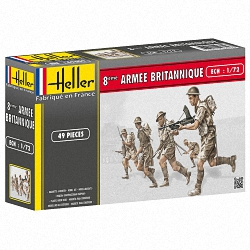 Heller 1:72 - 8eme Armee Britannique (British 8th Army)