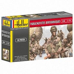 Heller 1:72 - Parachutistes Britanniques (British Paratroops)