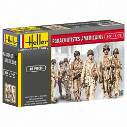 Heller 1:72 - Parachutistes Americains (American Paratroops)
