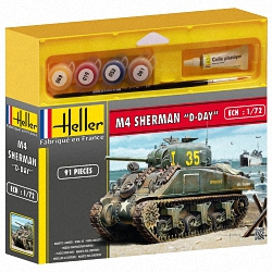 Heller 1:72 Gift Set - Sherman