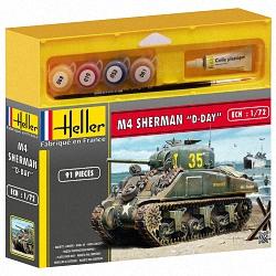 Heller 1:72 Gift Set - Sherman