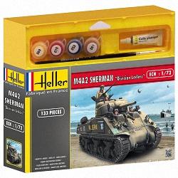 Heller 1:72 Gift Set - M4a2 Sherman