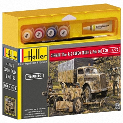 Heller 1:72 Gift Set - Opel Blitz & PAK 40