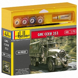 Heller 1:72 Gift Set - GMC CCKW 353
