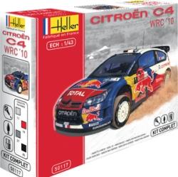 Heller 1:43 Gift Set - Citroen C4 WRC 2010