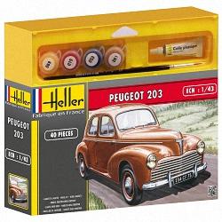Heller 1:43 Gift Set - Peugeot 203