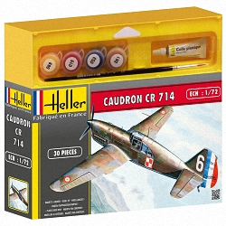 Heller 1:72 Gift Set - Caudron CR714