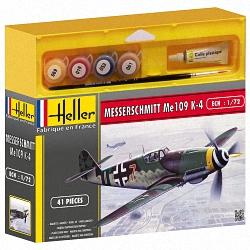 Heller 1:72 Gift Set - Messerschmitt ME 109 K-4
