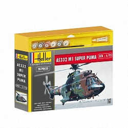 Heller 1:72 Gift Set - Super Puma AS332 M1
