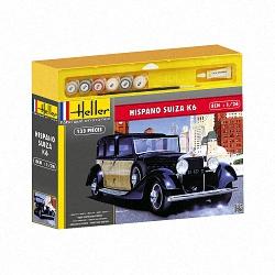 Heller 1:24 Gift Set - Hispano Suiza