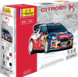 Heller 1:24 Gift Set - Citroen DS3 WRC 2012