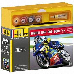 Heller 1:24 Gift Set - Suzuki RGV 500