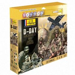 Heller 1:72 Gift Set - D-Day Air Assault (Cont. British Paras, German Infantry,