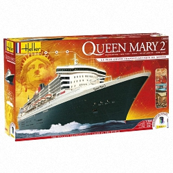 Heller 1:600 Gift Set - Queen Mary 2