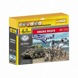 Heller 1:72 Gift Set - Omaha Beach (Special Set)