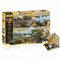 Heller 1:72 Gift Set - Coffret 70th Anniversary (Special Set)