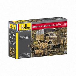Heller 1:72 - Opel Blitz & Pak 40