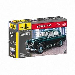 Heller 1:43 - Peugeot 403