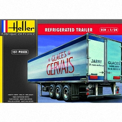 Heller 1:24 - Refrigerated Trailer