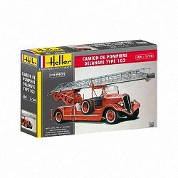 Heller 1:24 - Camion Pompiers Bonneville