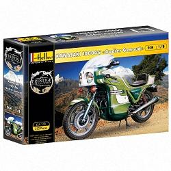 Heller 1:8 - Kawasaki 100GG 'Godier Genoud' Motorbike