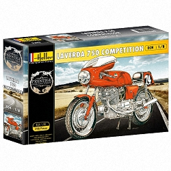 Heller 1:8 - Laverda 750 SFC Motorbike