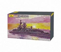 Heller 1:400 - Admiral Scheer